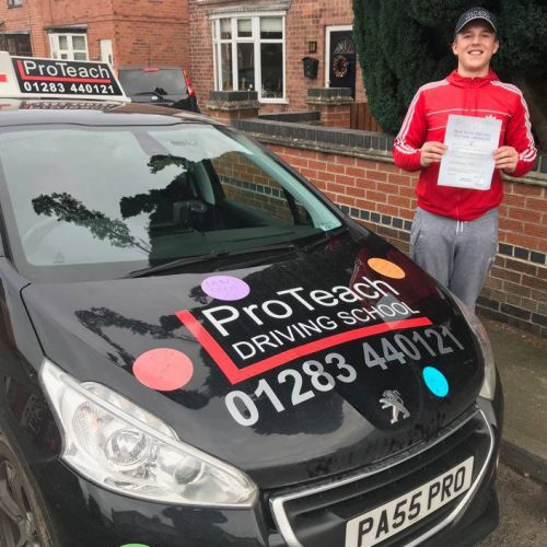 Congratulations to Lee on his first time pass