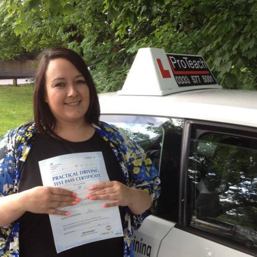 Sam passed with just 2 faults