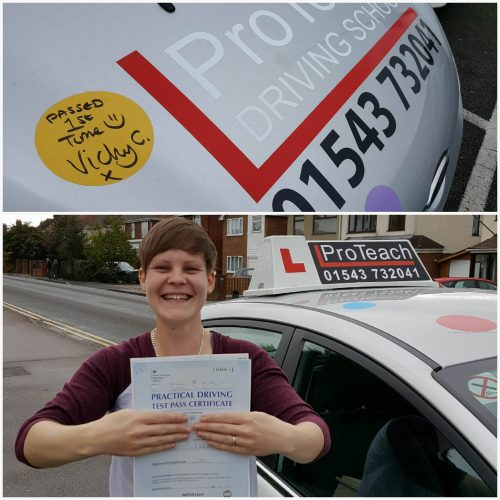 First Time Pass For Vicky