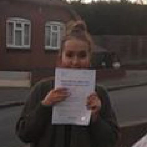 Paige passes in Lichfield