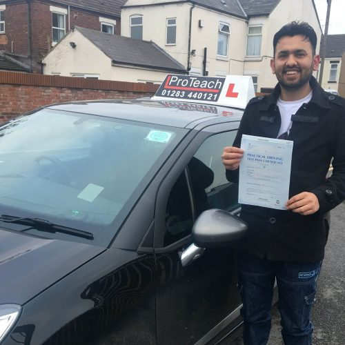 Imran passes with just 4 small driving faults