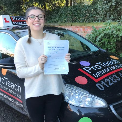 Grace passes first time, just like her sister did a few years ago.