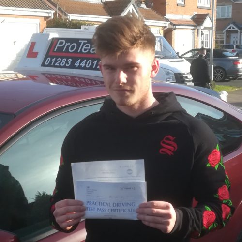 Morgan now holds a full driving licence