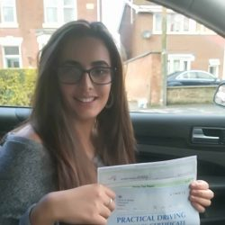 First Time Pass for Amelia Bland