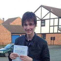 Joe Meadows passes in Burton