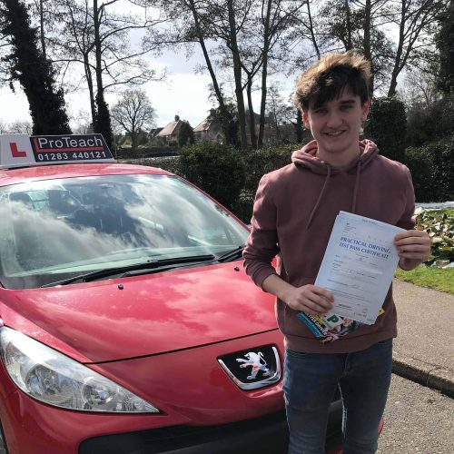 Tom Hickman passes with just 2 driving faults.
