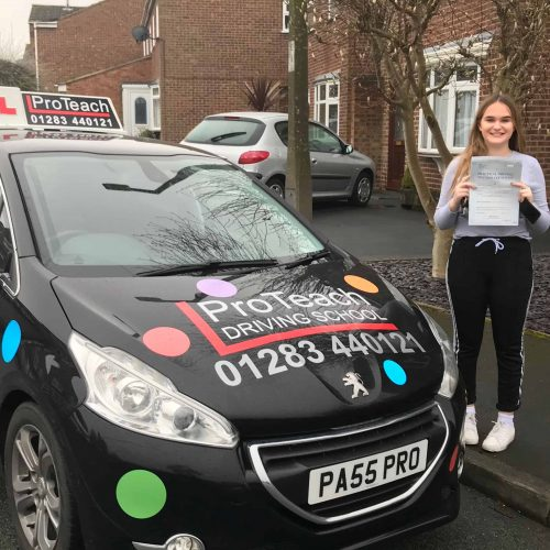 A rush hour pass for Jenna Staddon