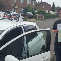 Just 4 driving faults for Dayne Jones