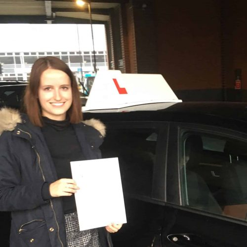 Esther Barlow-Smith passes with just 3 driving faults.