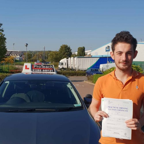 A pass with just 3 faults for Paul Moughtin-Leay