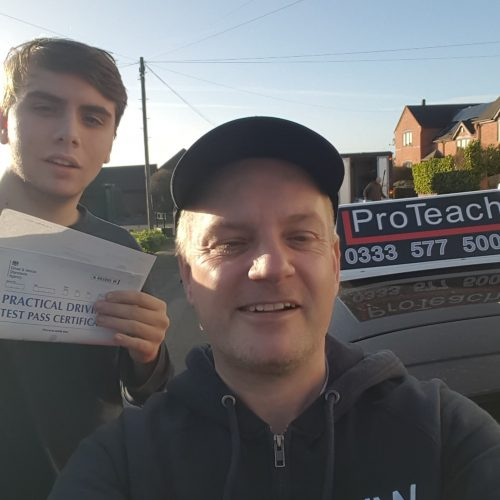 First Time Pass for Isaac Griffiths