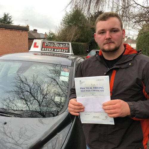 Dan Simpson passes with just 1 driving fault.