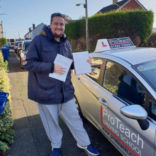 James Hog passes in Lichfield