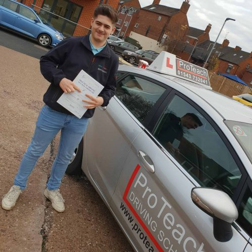 Billy Dance passes with just 3 driving faults