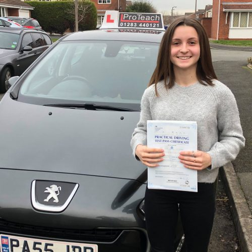 Its a first time pass for Ella Wycherley