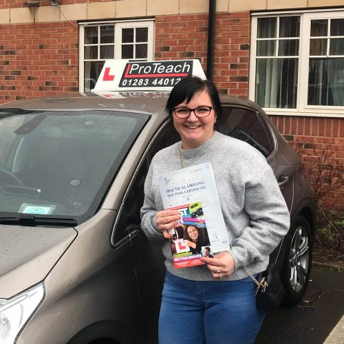 Another pass, this time for Justyna Janczuk