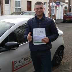 Automatic first time pass for Dorels Moldovanu
