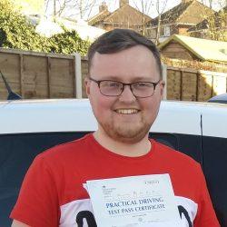 Auto Pass for William Garratt