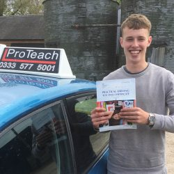 Intensive first time pass for Todd Ward