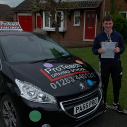First time pass for Mitch Adams