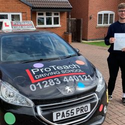 First Time Pass for Tom Woolley