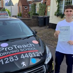 Joe Flavill passes with just 2 driving faults