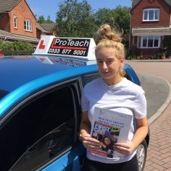 First time pass for Lucy Realff