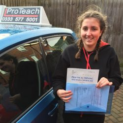 Intensive First Time Pass for Zoe Whitley