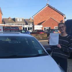 First Time Pass, this time for Louise